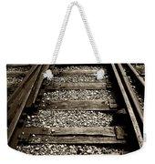Tracks Into Tracks - 2 Weekender Tote Bag