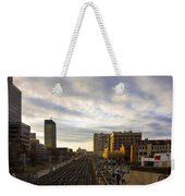 Tracks Philadelphia Weekender Tote Bag