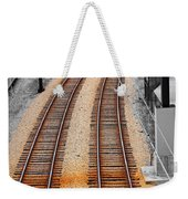 Tracks  Weekender Tote Bag