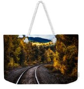 Tracks Through The Mountains  Weekender Tote Bag by Bob Orsillo