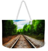 Tracks Through The Woods Weekender Tote Bag