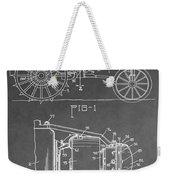Tractor Patent Weekender Tote Bag