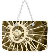 Tractor Wheel Weekender Tote Bag