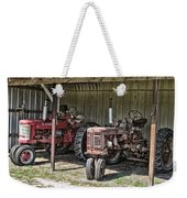 Tractors In The Shed Weekender Tote Bag