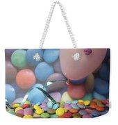 Tracy Felt Like A Real Airhead Surrounded By All These Smarties Weekender Tote Bag