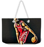 Tracy Mcgrady Portrait Weekender Tote Bag