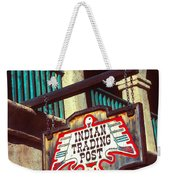Trading Post Weekender Tote Bag