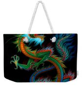 Tradition Asian Dragon Illustration 1 Weekender Tote Bag