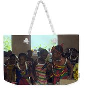 Traditional Dance And Singing Weekender Tote Bag