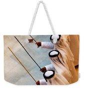 Traditional Emirati Men's Dance  Weekender Tote Bag
