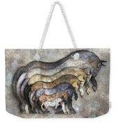 Traditional Horses Weekender Tote Bag