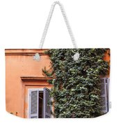 Traditional House Rome Italy Weekender Tote Bag