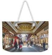 Traditional Shopping Area In Shanghai China Weekender Tote Bag