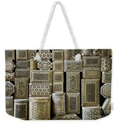 Traditional Souvenir Boxes In Market Of Cairo Egypt  Weekender Tote Bag