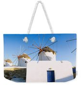 Traditional Windmill In A Village Weekender Tote Bag