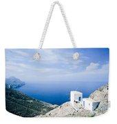 Traditional Windmill On Karpathos Island - Greece Weekender Tote Bag