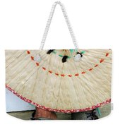 Traditional Woven Weekender Tote Bag