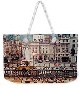 Trafalgar Square London Weekender Tote Bag by Diana Angstadt