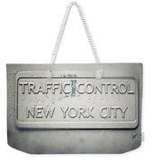Traffic Control Weekender Tote Bag