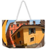 Traffic Mirror Soave Italy Weekender Tote Bag