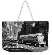 Traffic - New York In Perspective Series Weekender Tote Bag