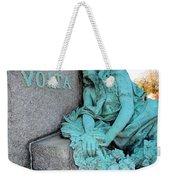 Tragic Beauty Weekender Tote Bag