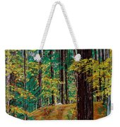 Trail At Wason Pond Weekender Tote Bag