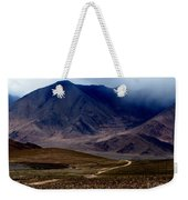 Trail Down From Muztagh Ata Weekender Tote Bag