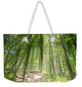 Trail In The Forest Weekender Tote Bag