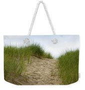 Trail Over The Dune To The Summer Beach Weekender Tote Bag