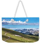 Trail Ridge Road In Rocky Mountain National Park Weekender Tote Bag
