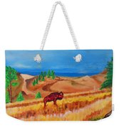 Monarch Of The Plains Weekender Tote Bag