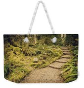 Trail Through The Moss Weekender Tote Bag