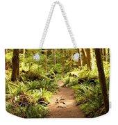 Trail Through The Rainforest Weekender Tote Bag by Carol Groenen