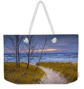 Trail To The Beach Weekender Tote Bag