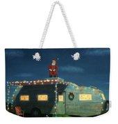 Trailer House Christmas Weekender Tote Bag