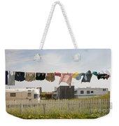 Trailers In North Rustico Weekender Tote Bag by Elena Elisseeva