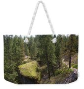 Trails In Spokane Weekender Tote Bag