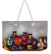 Train - A Collection Of Rail Road Lanterns  Weekender Tote Bag