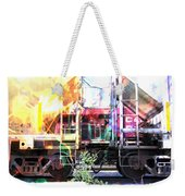 Train Abstract Blend 1 Weekender Tote Bag