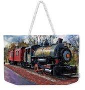 Train At Olmsted Falls - 1 Weekender Tote Bag