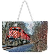 Train - Canadian Pacific Engine 5937 Weekender Tote Bag
