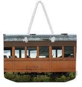 Train Coach Windows Weekender Tote Bag