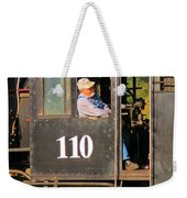 Train Conductor Weekender Tote Bag