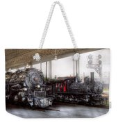 Train - Engine - 1218 - End Of The Line  Weekender Tote Bag
