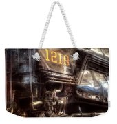 Train - Engine - 1218 - Norfolk Western - Class A - 1218 Weekender Tote Bag by Mike Savad