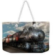 Train - Engine - 6 Nw Class G Steam Locomotive 4-6-0  Weekender Tote Bag by Mike Savad