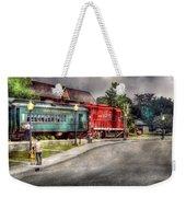Train - Engine - Black River Western Weekender Tote Bag