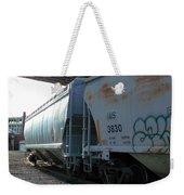 Train In The City Weekender Tote Bag
