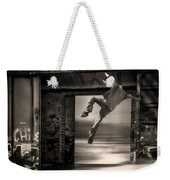Train Jumping Weekender Tote Bag